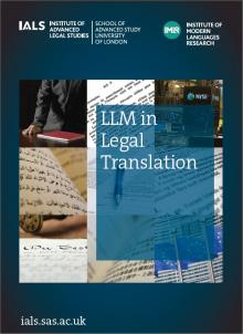 Legal Translation Course Brochure